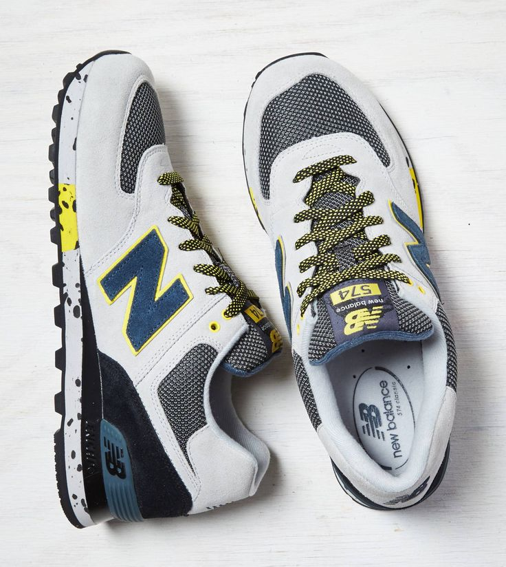 Grey New Balance 574 Sneaker. Show us your #AEOSTYLE on Instagram or  Twitter for