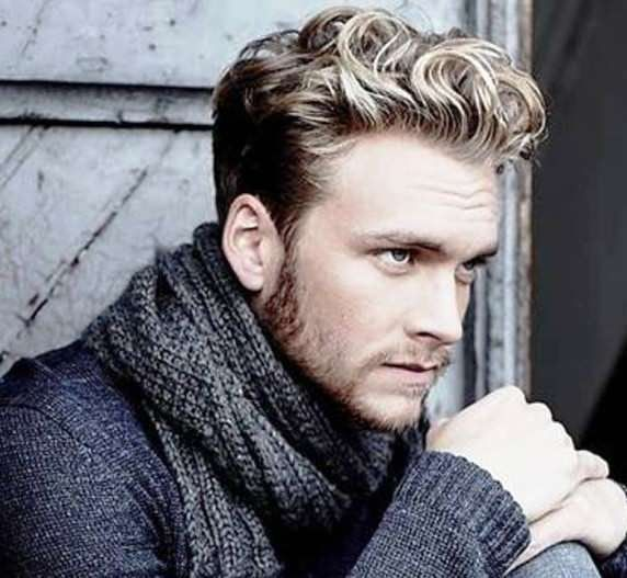 male hairstyles for wavy hair hairstyles for men pinterest wavy hair the o 39 jays and male. Black Bedroom Furniture Sets. Home Design Ideas