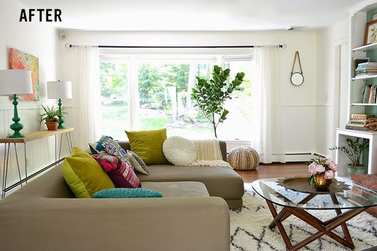 Copy Cat Chic Room Redo | Chilled Out Living Room