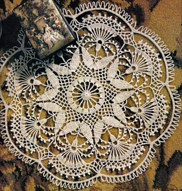 oooohhhh I'm going to make this one someday! Crochet Art: Doily - Gorgeous Crochet Doily