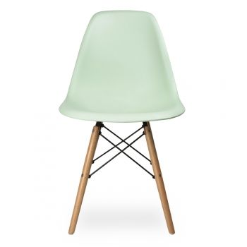 Eames Limited Edition Summer Colour – Peppermint DSW Chair - Eames from Cult Furniture UK