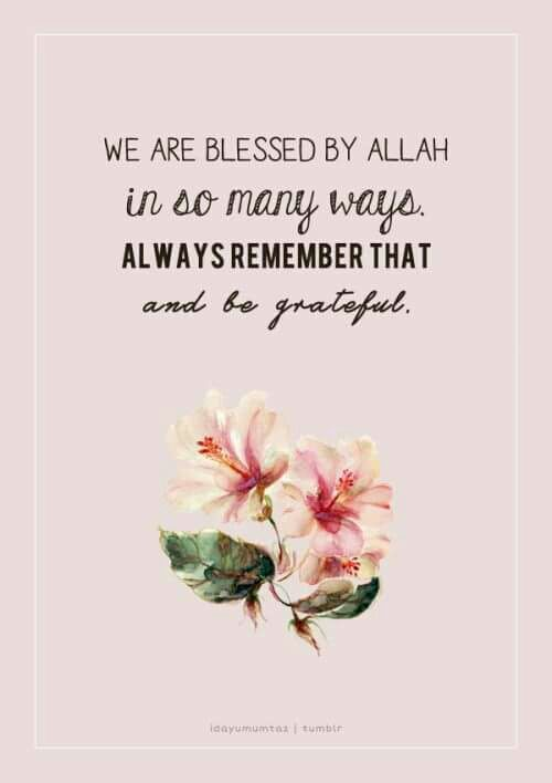 Alhamdulillah so much!