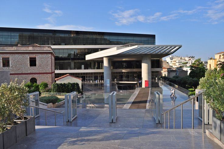 The entrance of #Acropolis #museum #Athens #History