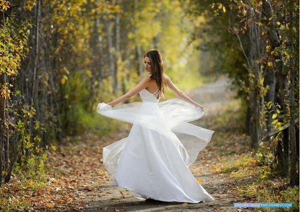 Gyönyörű esküvői fotózás