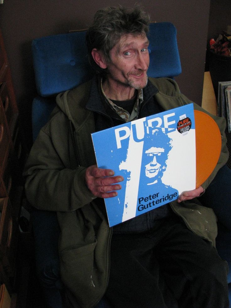 North East Valley record shop Too Tone Records helps Pete celebrate the vinyl release of his 1989 solo album Pure late last year.