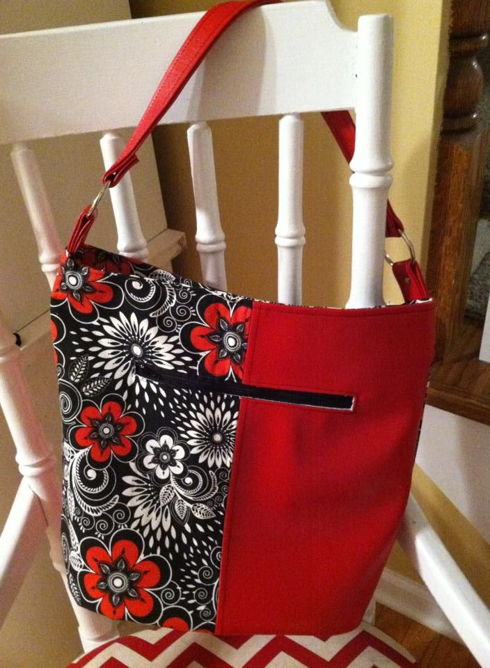 Swoon patterns bonnie bucket bag