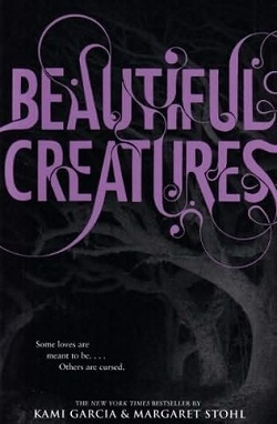 Beautiful Creatures.  Though I have grown tired of the teen/ya books for a while, I started this one because I want to read books before the movies come out.  I am pleasantly surprised and will continue reading the series.  Very well written.