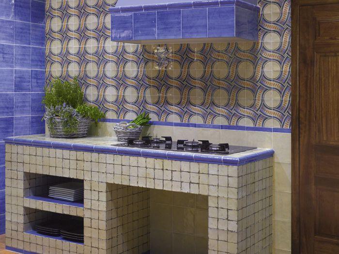 cocina con azulejos rusticos buscar con google