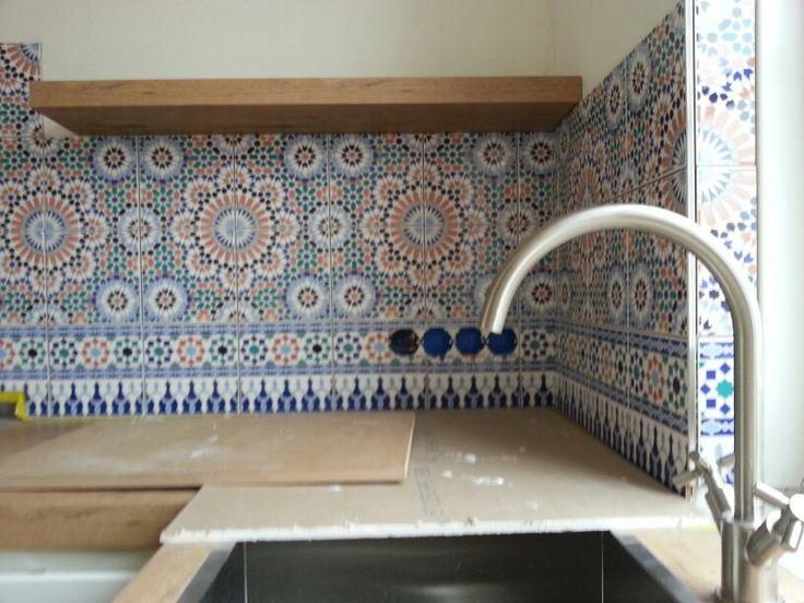 Marokkaanse Wandtegels Keuken : 1000+ images about Natalies huis on Pinterest Haken, Moroccan Tiles