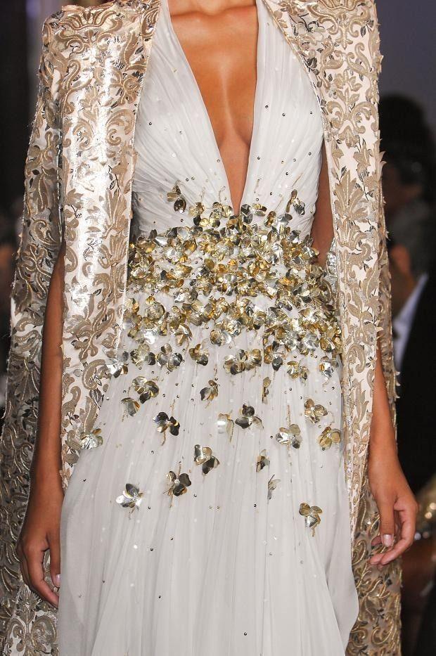 Pariser Modewoche im Detail   Miracl Blogger … – pink … bianco e beige – # …   – Hochzeitskleider
