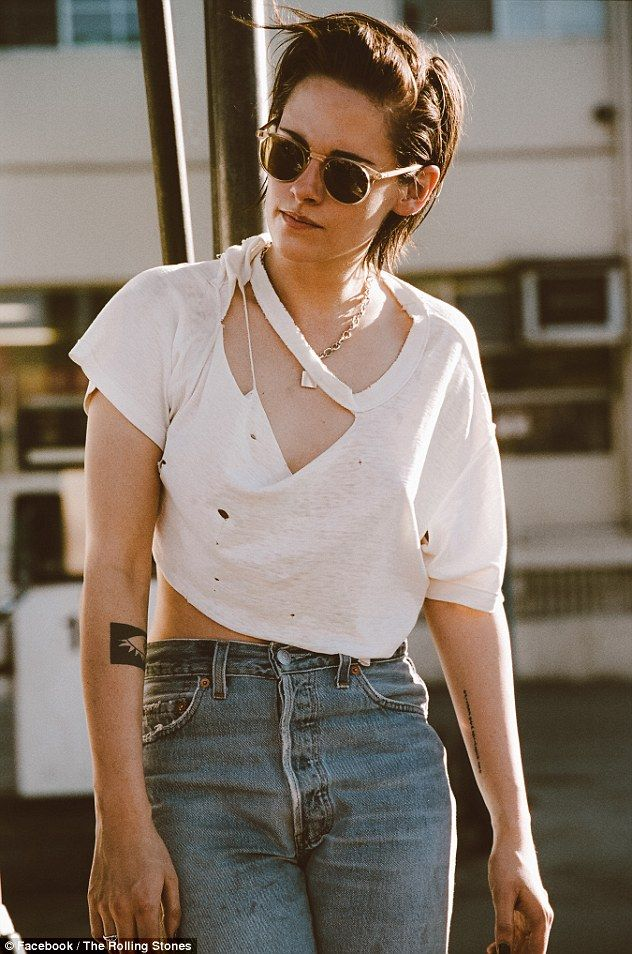 Kristen Stewart in new video for The Rolling Stones comeback single Ride 'Em On Down | Daily Mail Online