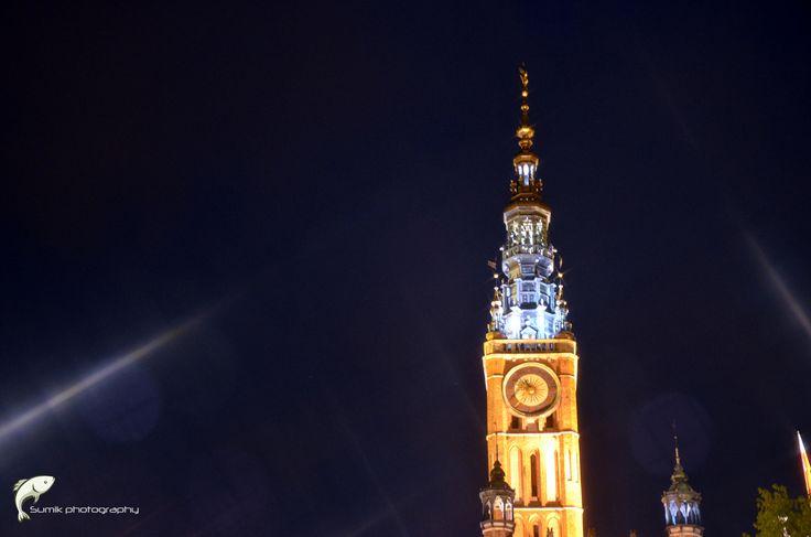 """city hall tower by Przemysław """"Sumik"""" Sumisławski on 500px"""