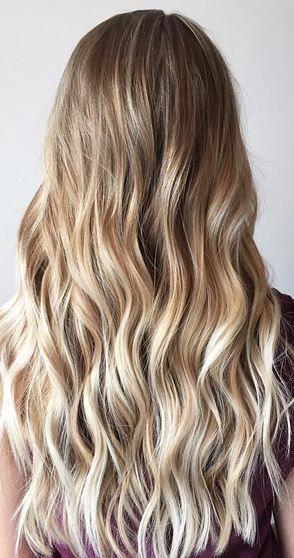 pinterest: @startariotinme ☾ // natural looking blonde balayage