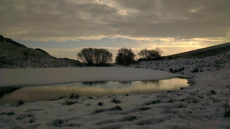 Winter lake by @Craig Fish