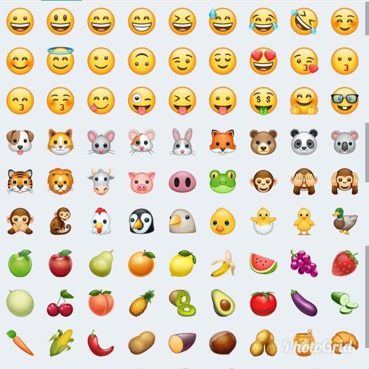 Ya vieron los nuevos #emojis de #Whatsapp  Te gustan?  aA mi si
