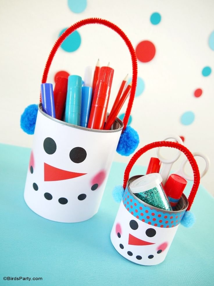 Kids Red & Teal Snowman Christmas Holiday Tablescape | Kids crafts ...
