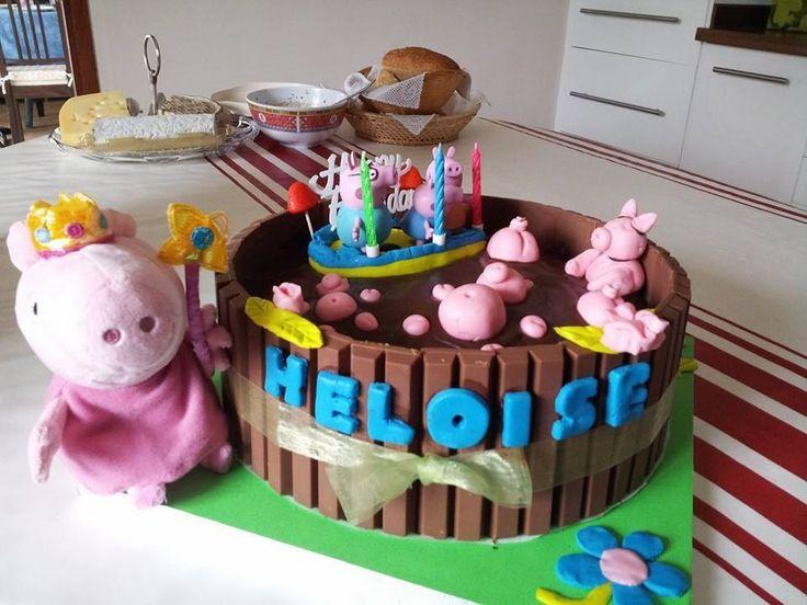 Concours gâteau d'anniversaire - Peppa pig à la piscine | Cultura