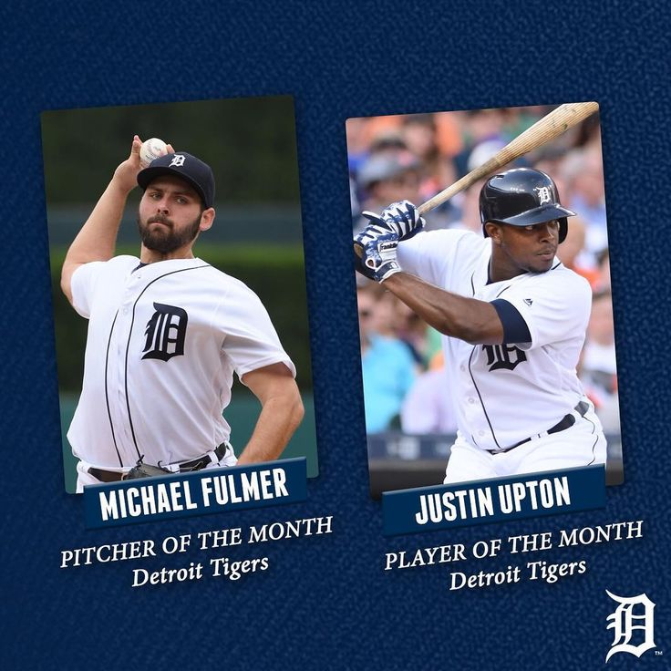 """6,348 Likes, 16 Comments - @tigers on Instagram: """"Congratulations to Michael Fulmer and Justin Upton on being named the #Tigers Pitcher and Player of…"""""""