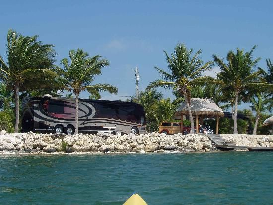 Bluewater Key RV Resort located in the Saddlebunch Keys at Mile Marker 14.5.