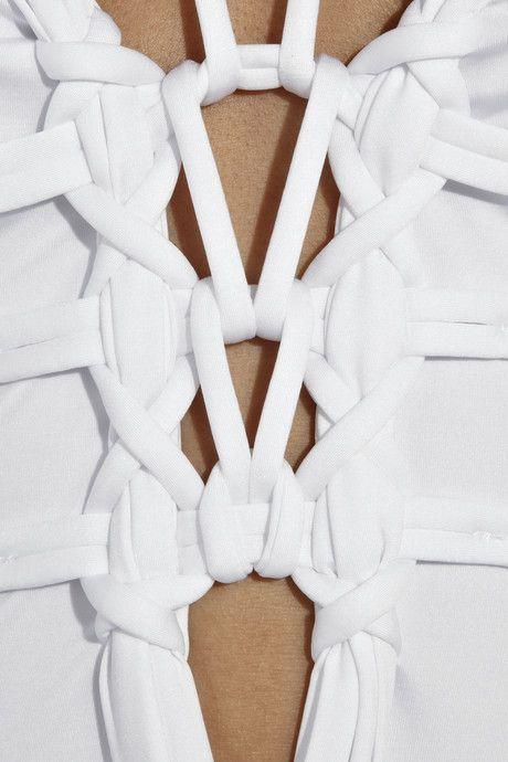 La Perla Mohini Knot Embellished Swimsuit  jasminefurelid.com  jfstylissimo.tumblr.com