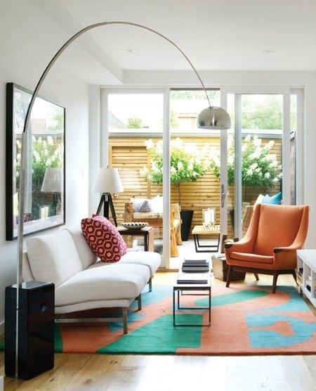 83 best arco floor lamp replica images on pinterest arco floor arco floor lamp shines light onto the table and gives a modern look to your living mozeypictures Image collections