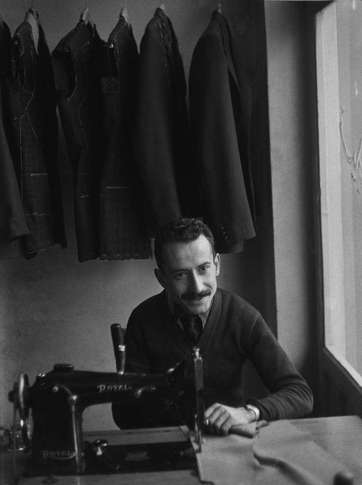 Mario Dondero - Baghdad, il sarto 1961