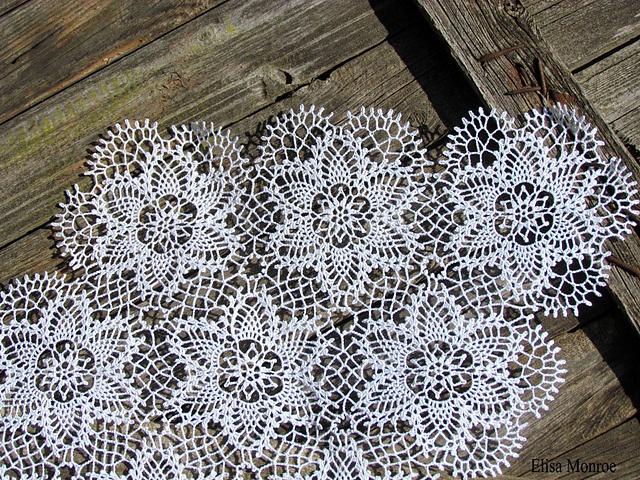 Ravelry: ElisaM's Flowers for Snow White/ Цветы для Белоснежки