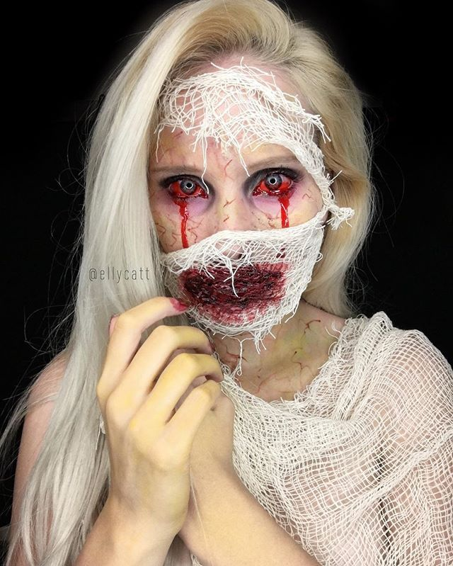 Best 25+ Gory halloween makeup ideas on Pinterest | Special ...