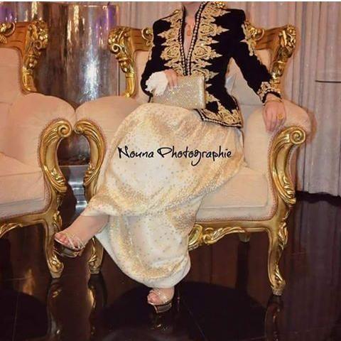 كاراكو لباس جزائري عاصمي  #AlgerianTraditionalDresses