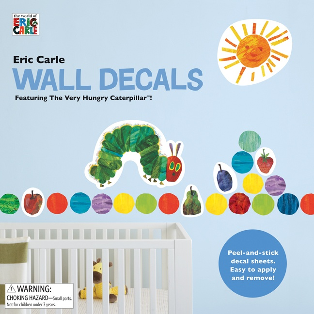 Hungry Caterpillar Wall Stickers Part - 19: Eric Carle Wall Decals By Chronicle- Celebrate The Classic Art Of Eric  Carle With This · Very Hungry CaterpillarHungry ...