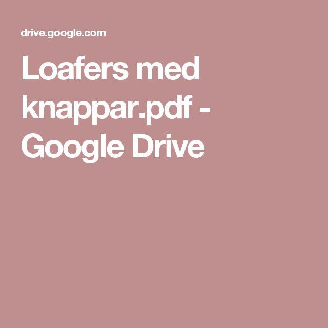 Loafers med knappar.pdf - Google Drive