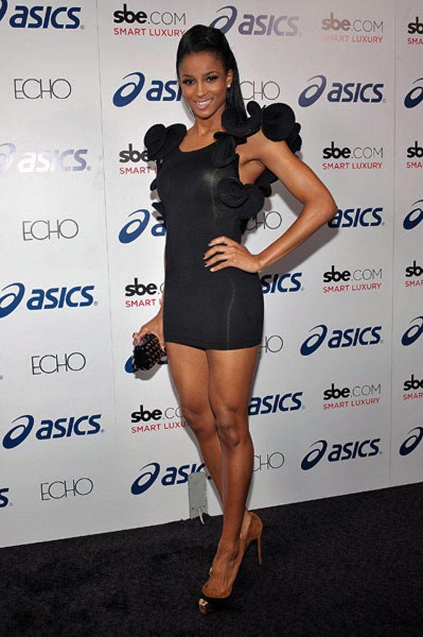 Ciara Princess Harris Legs Legshow THE LEGSHOW