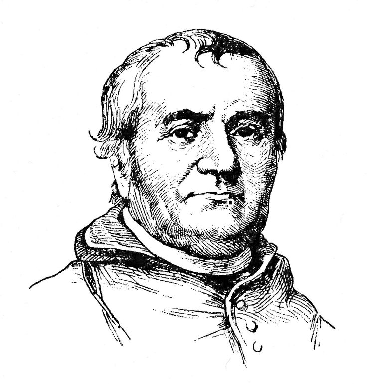 Father John DuBois: French émigré built St. John the Evangelist Church in Frederick, then established Mount St. Mary's College in 1808.