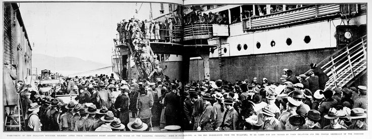 Returning home from war | WW100 New Zealand