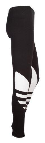 Adidas Originals Womens Trefoil Leggings Tights Jeggings Bottoms casual leisure trousers pants ladies women Black white 16 Adidas, http://www.amazon.co.uk/dp/B00AEMUR2U/ref=cm_sw_r_pi_dp_lG5crb1GSQZ15