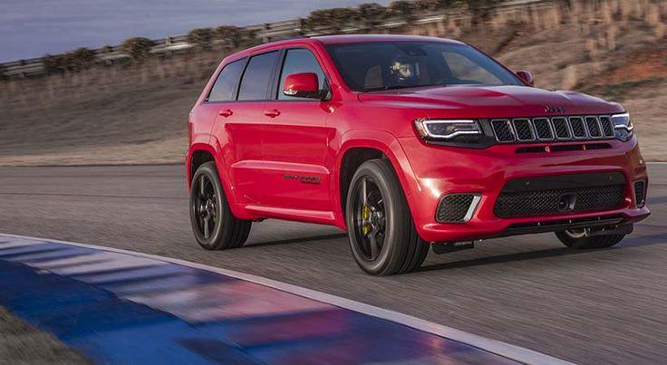 Precio Jeep Grand Cherokee Trackhawk 2018, 707 HP por $85,900 - http://autoproyecto.com/2017/08/precio-jeep-grand-cherokee-trackhawk-2018.html?utm_source=PN&utm_medium=Pinterest+AP&utm_campaign=SNAP