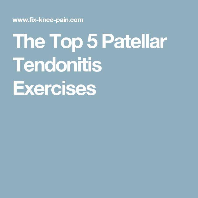 The Top 5 Patellar Tendonitis Exercises