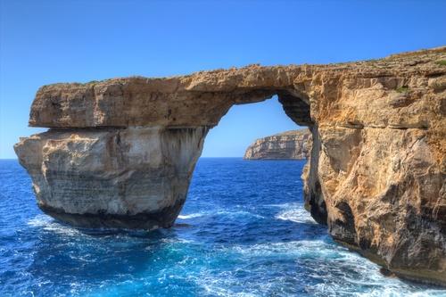 Malte - Fenêtre d'Azur