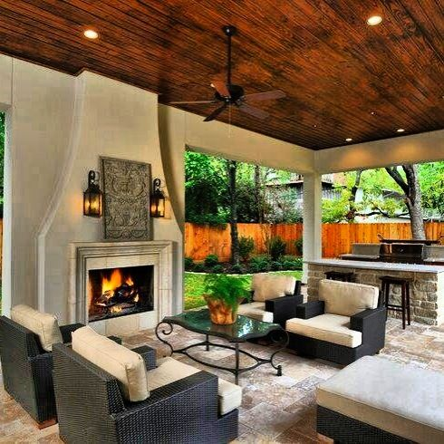Outdoor living.. Enclosed patio | Things to Wear | Pinterest on Enclosed Outdoor Living Spaces id=83182
