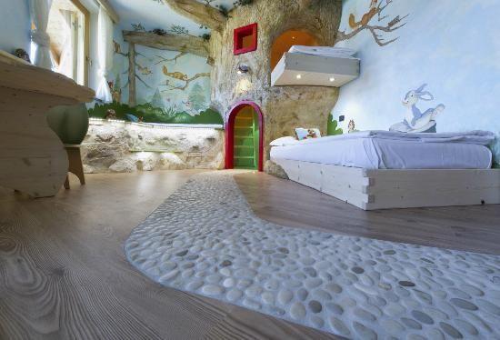 Family Hotel La Grotta (in the Dolomites in Italy)