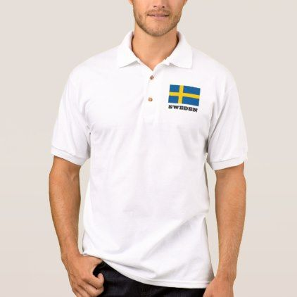 #women - #Swedish flag custom polo shirts for men and women