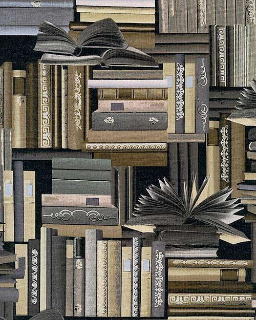 Renaissance Man - Library Stacks - Pewter/Silver