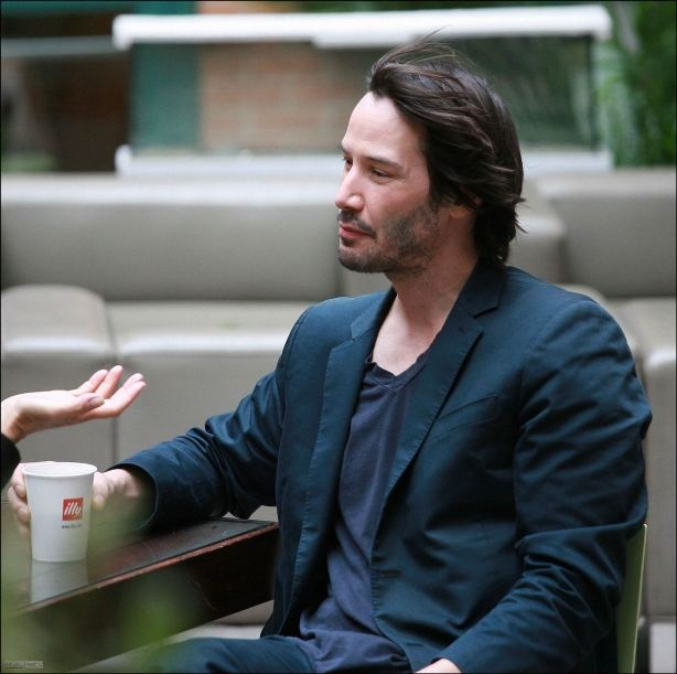 Why we love Keanu ? he's down to earth, goofy, sincere and kind. There's a lot of sadness in his eyes but these are the eyes of a wise man.