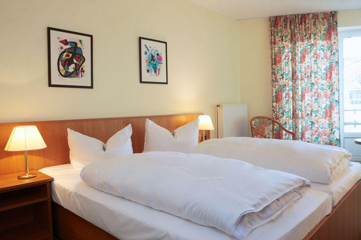 40 exklusiv eingerichtete Doppel- und 5 Einzelzimmer stehen im AKZENT Hotel Zur Grünen Eiche bereit