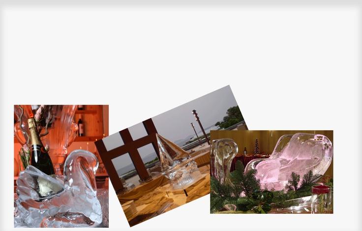 Moldes reutilizables para esculturas en hielo  Para hacer impresionantes esculturas de hielo con moldes reutilizables se necesita lo siguiente:  1 – moldes reutilizables de refrigeración  2 – congelador de enfriado rápido con temperatura de -20 grados °C o -4 grados Fahrenheit  3 -agua del grifo