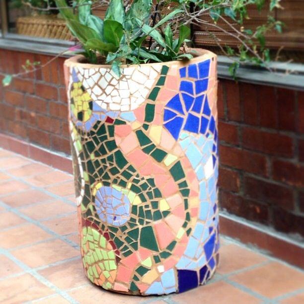 Matera #mosaico #terraza