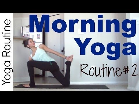 ▶ Morning Yoga Routine #2 (20 minutes) - YouTube #yoga