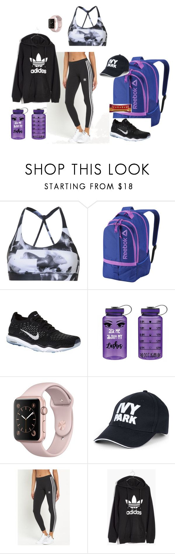 """hidden scars fashion collectsion"" by kariasmarshall on Polyvore featuring Reebok, NIKE, Ivy Park, adidas Originals and Madewell"