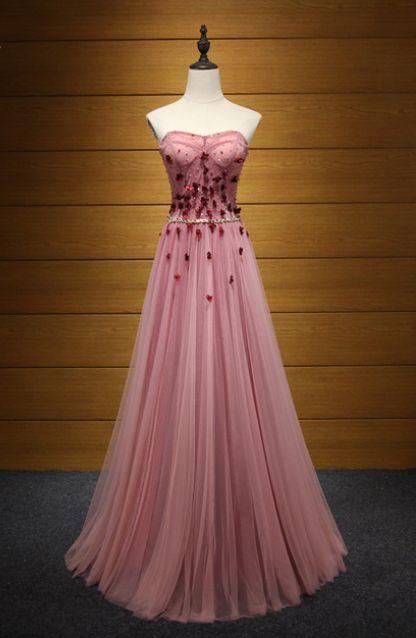 Elegant Backless Strapless Long Evening Dresses Beading Flowers #prom #promdress #dress #eveningdress #evening #fashion #love #shopping #art #dress #women #mermaid #SEXY #SexyGirl #PromDresses