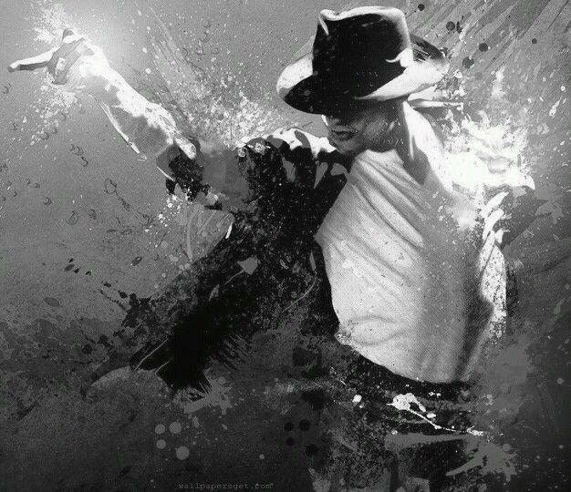 Michael Jackson. Thinking about getting this as a tattoo tribute on my ribs